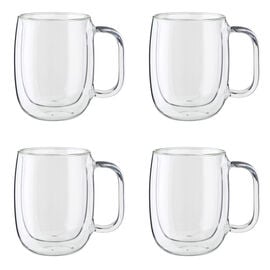 ZWILLING Sorrento Plus Double Wall Glassware, 4-pc, Coffee glass set