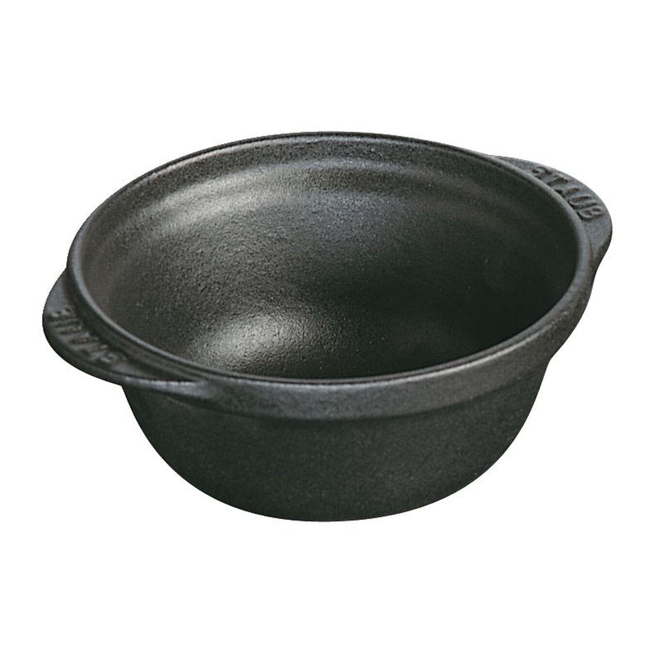 Ciotola rotonda - 12 cm, Nera,,large 1