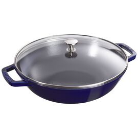 Staub Cast Iron, 4.5-qt Perfect Pan - Dark Blue