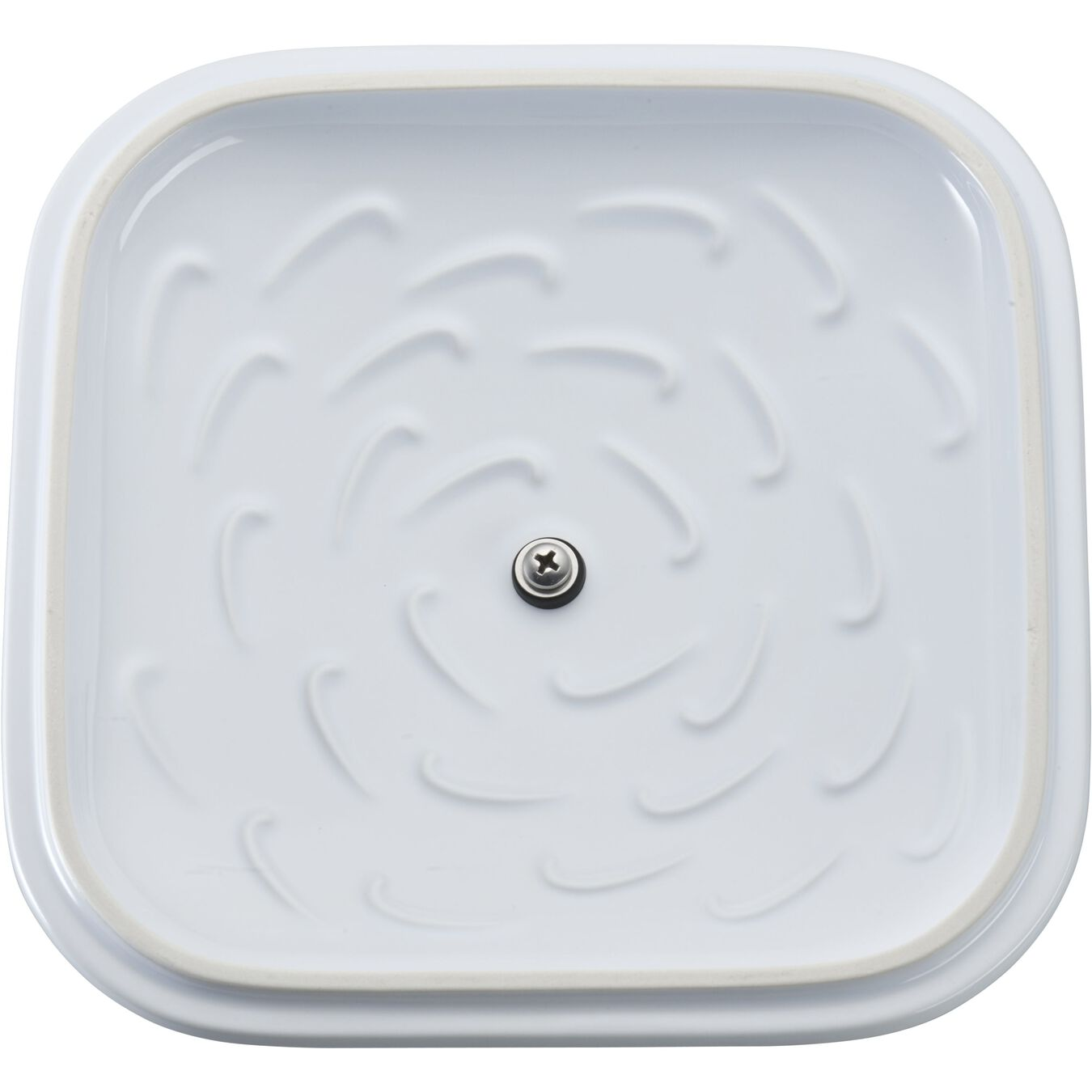 9-inch, square, Covered Baking Dish, white,,large 5