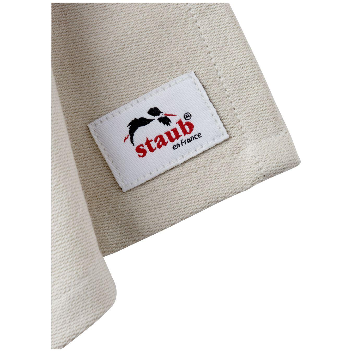 70 cm x 50 cm Cotton Kitchen towel, Grey,,large 4
