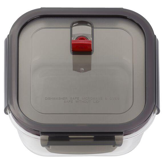 1-l-/-1.25-qt Borosilicate glass Storage jar,,large 3