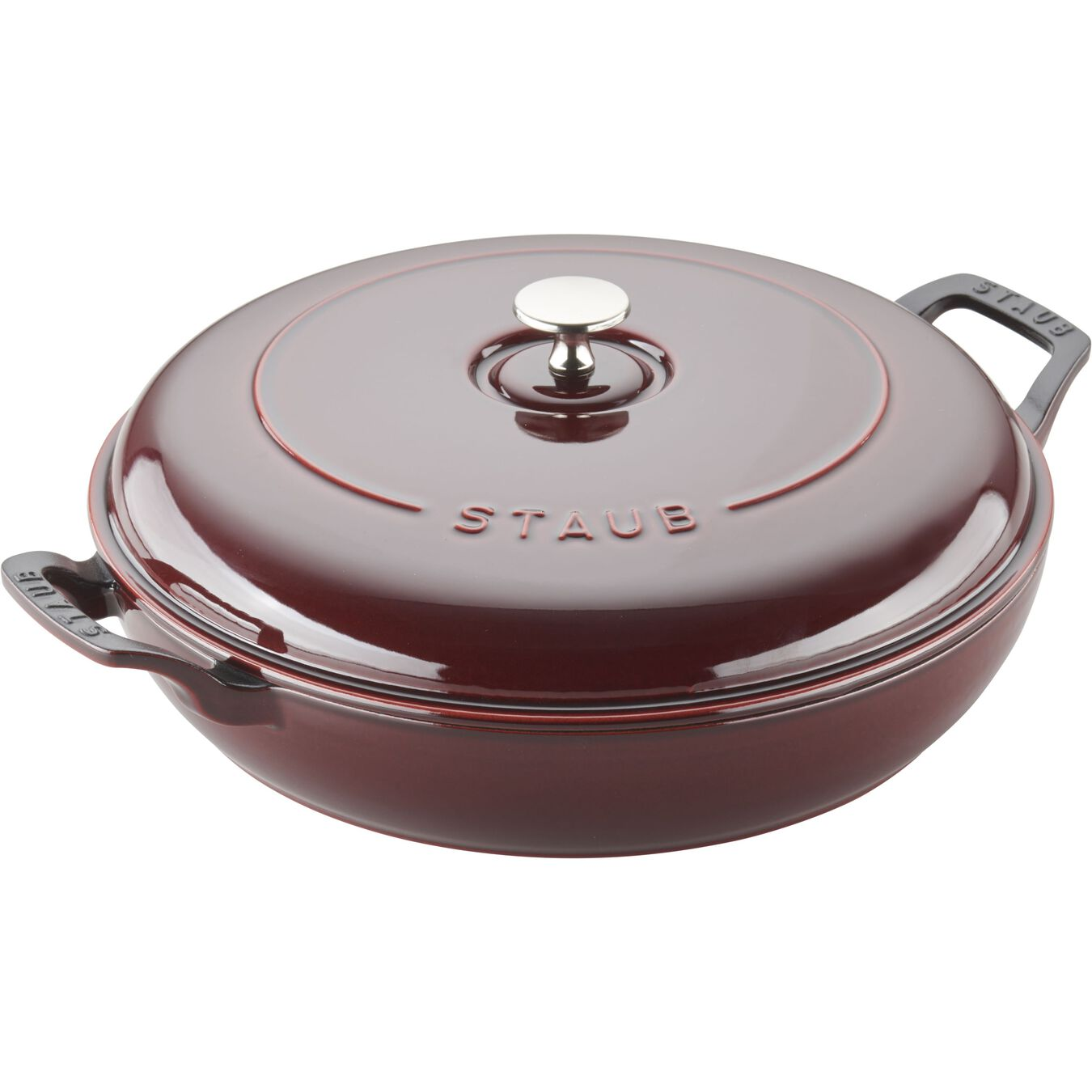 12-inch, Saute pan, grenadine,,large 2