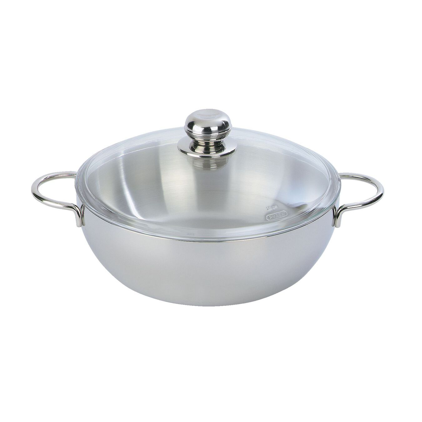 8.5 qt Stock pot with lid, 18/10 Stainless Steel ,,large 2