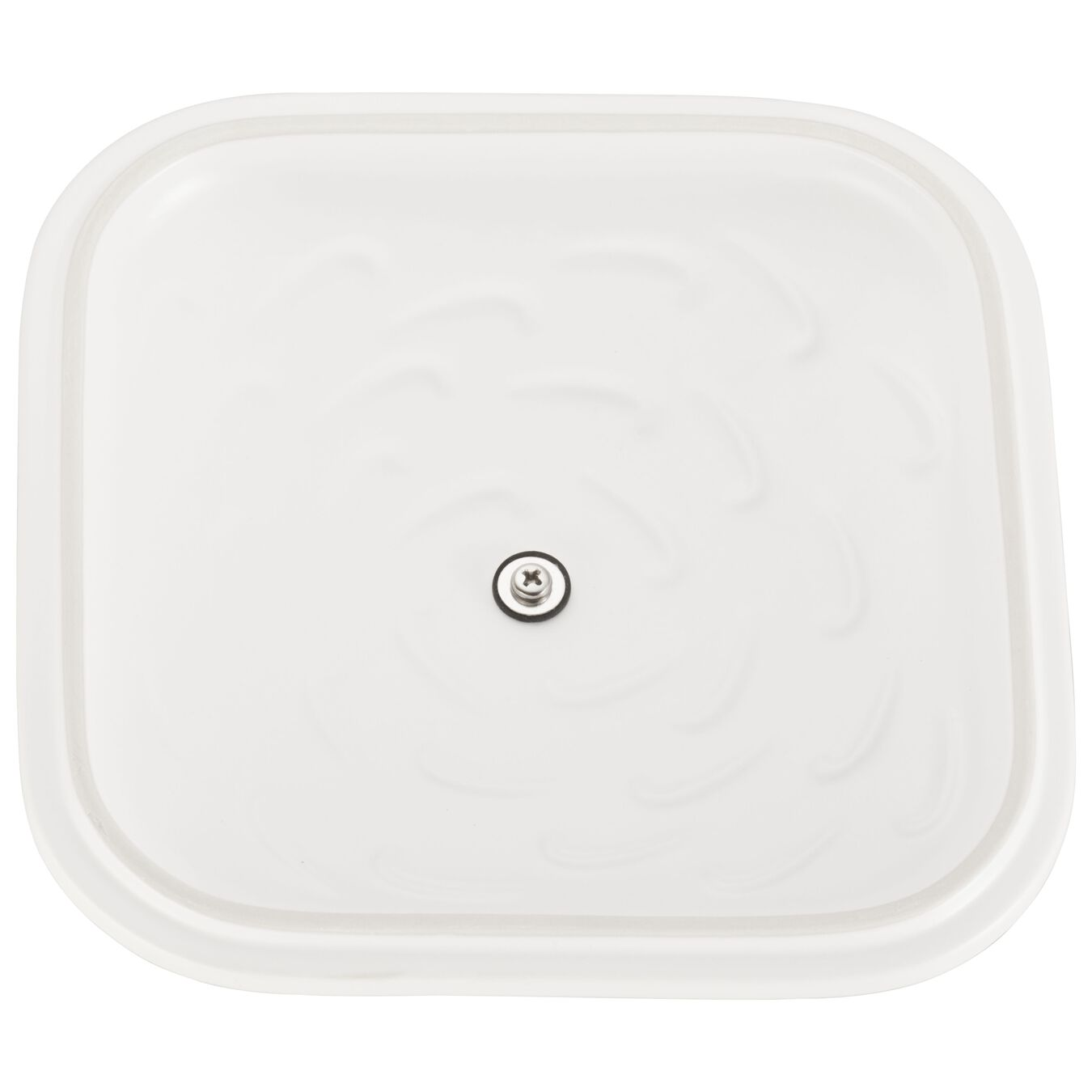 9-inch X 9-inch Square Covered Baking Dish - Matte White,,large 5