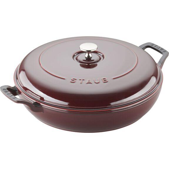 30-cm-/-12-inch Enamel Saute pan,,large 2