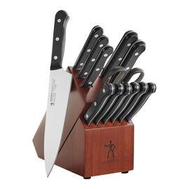 Henckels International Everedge Solution, 14-pc Knife block set Wood