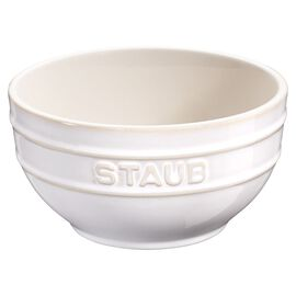 Staub Ceramique, Bol 14 cm, Céramique, Blanc ivoire