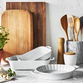 Staub Ceramique, 3-pc, Ovenware set, white