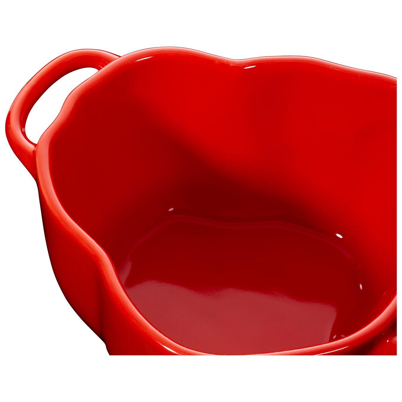 Cocotte 12 cm, pepper, Orange-Red, Céramique,,large 4