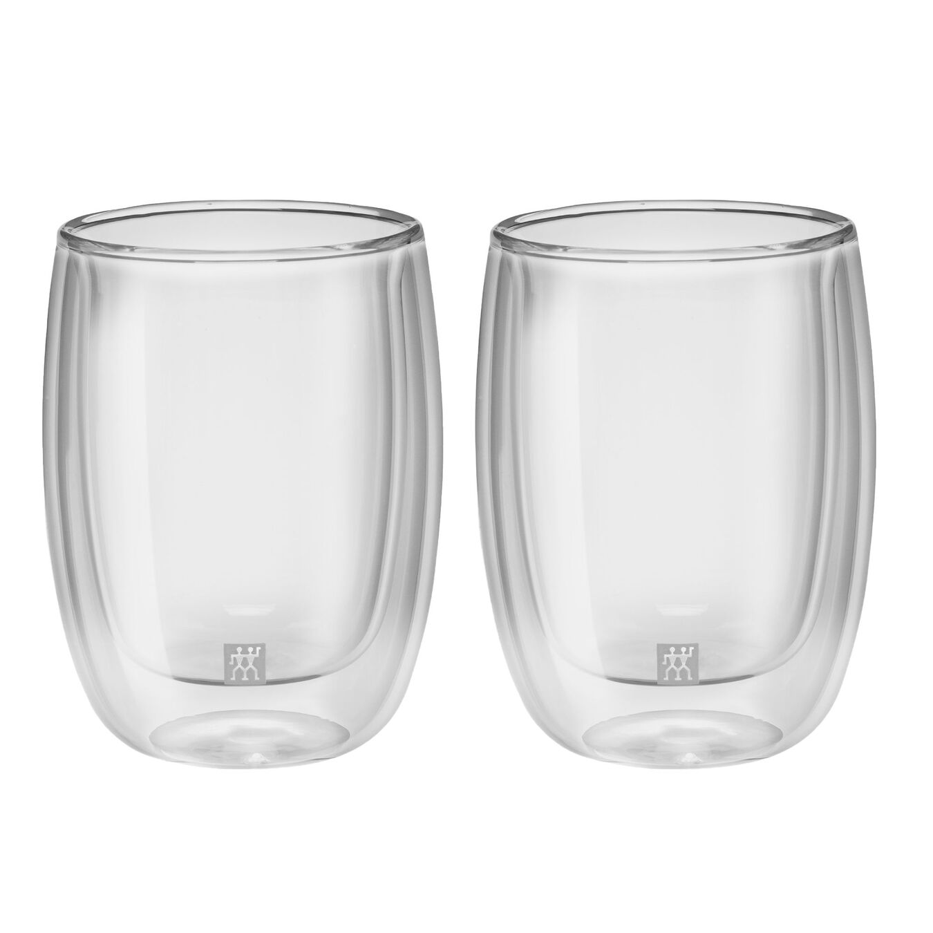 2 Piece Double-Wall Coffee Glass Set,,large 1