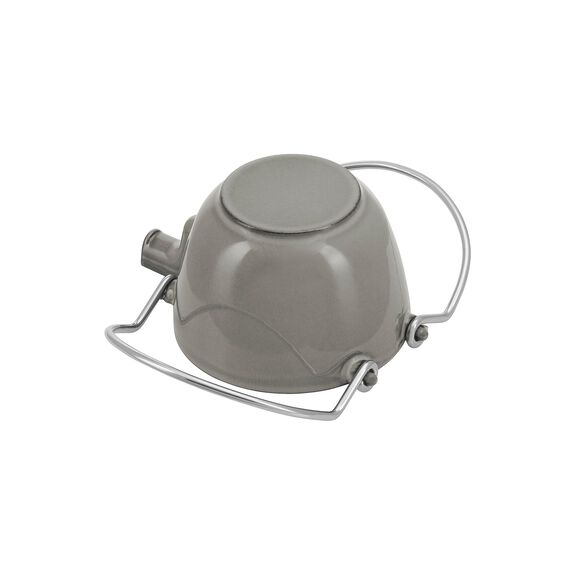 1-qt Round Tea Kettle - Graphite Grey,,large 3