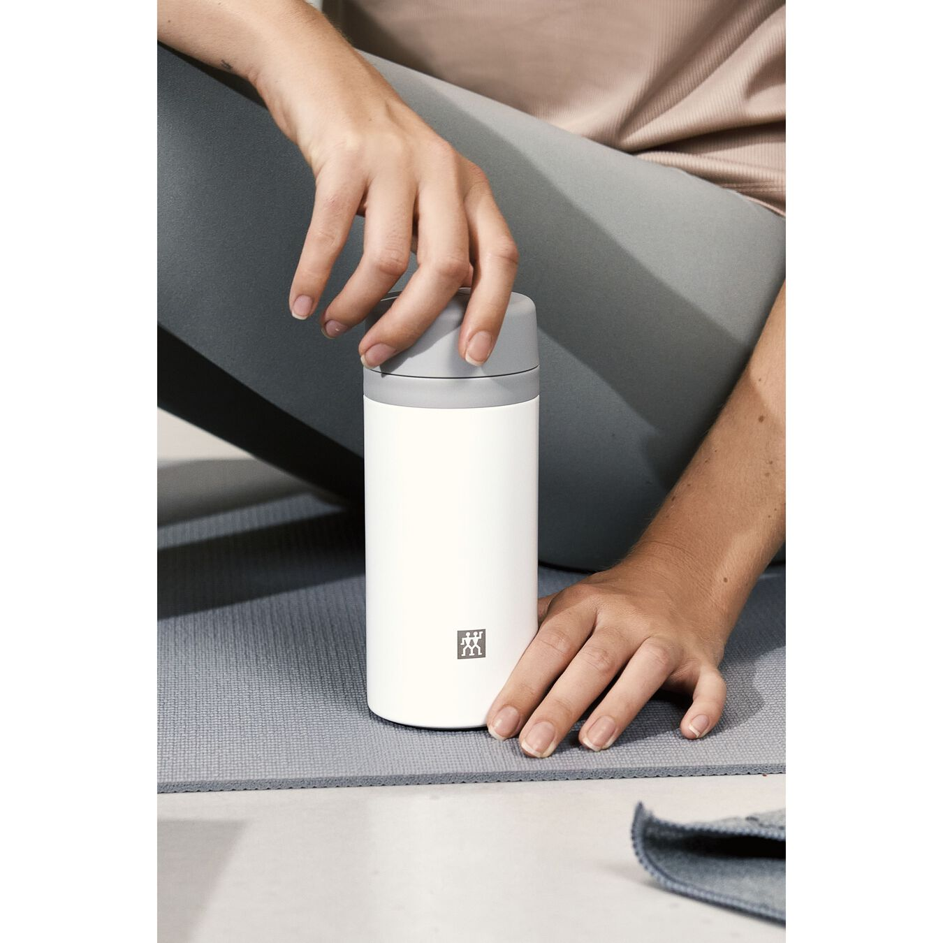 Thermos flask, 420 ml | White,,large 11