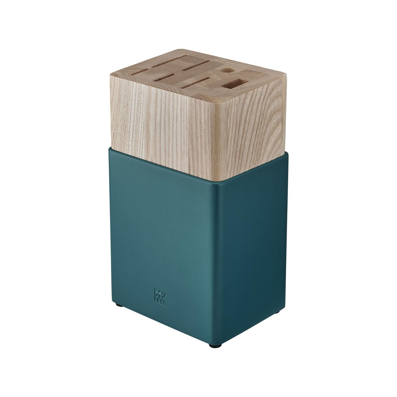 8-pc Knife Block Set - Blueberry Blue,,large 2