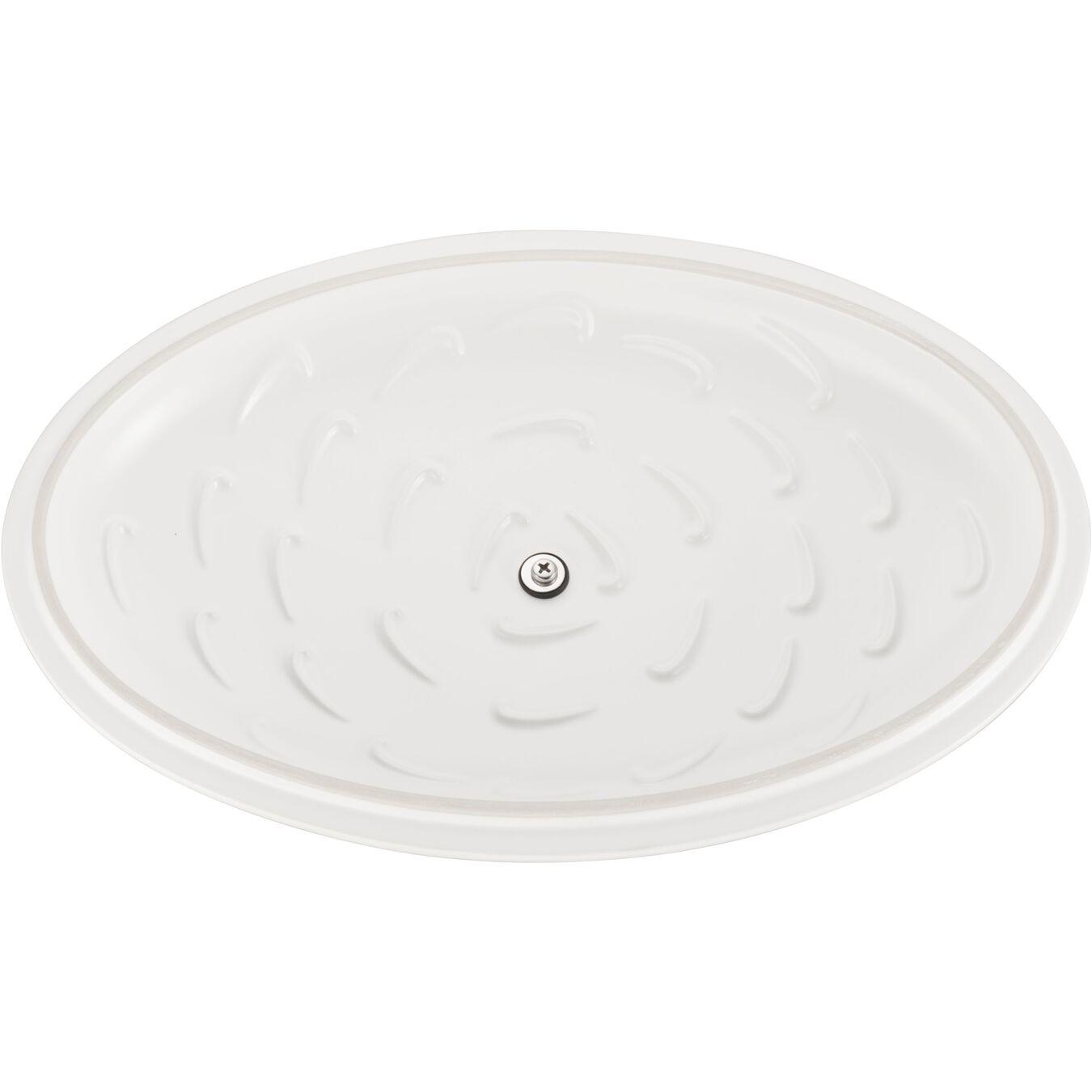 ceramic Special shape bakeware, matte-white,,large 4
