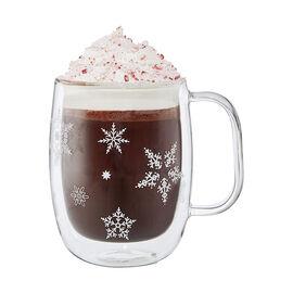 ZWILLING Sorrento Double Wall Glassware, 4-pc  Coffee Glass Mug Holiday Set