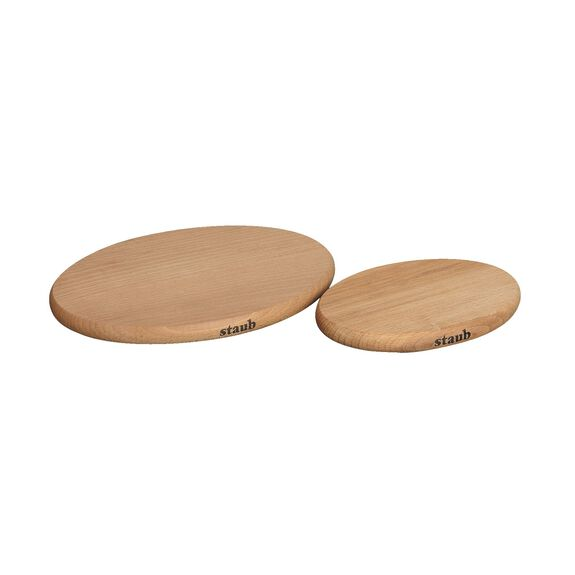 6-inch Oval Magnetic Wood Trivet,,large 3