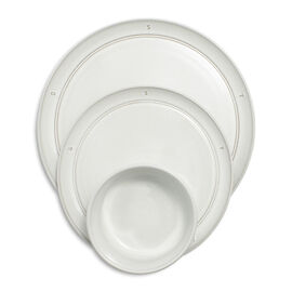 Staub Boussole, Serving set, 12 Piece | Off-White | Ceramic | round | Ceramic