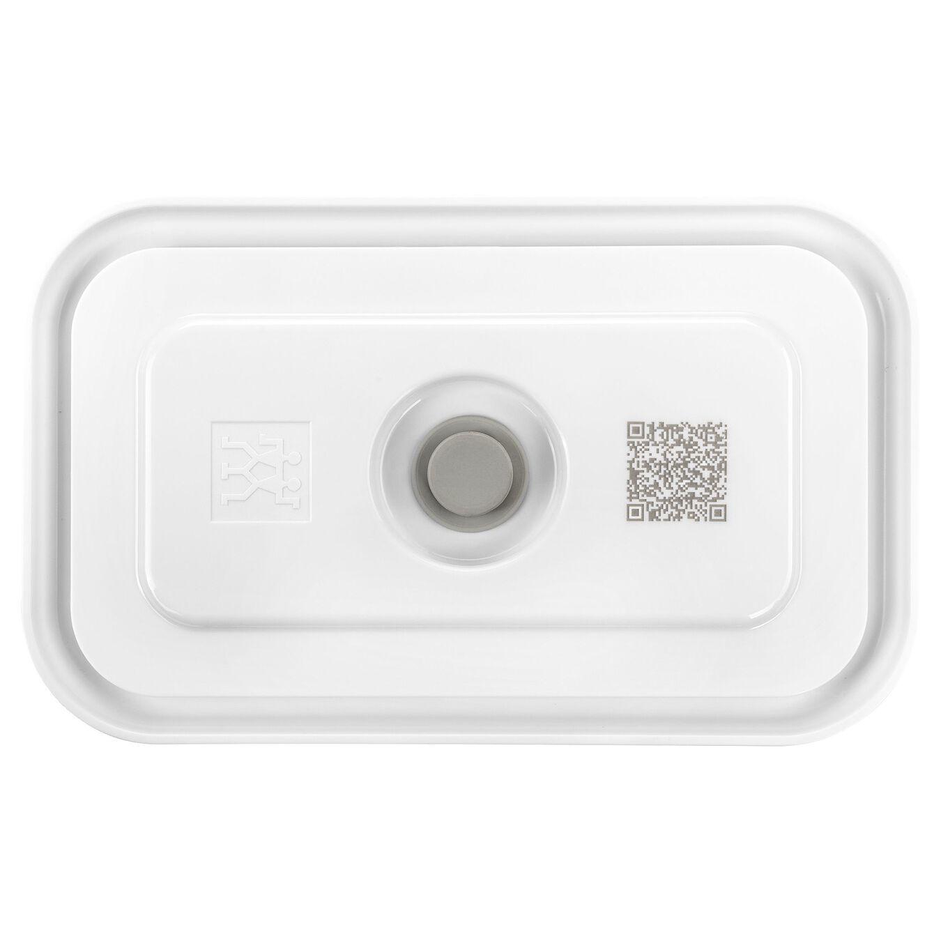 Contenitore sottovuoto - M, vetro borosilicato, bianco,,large 2