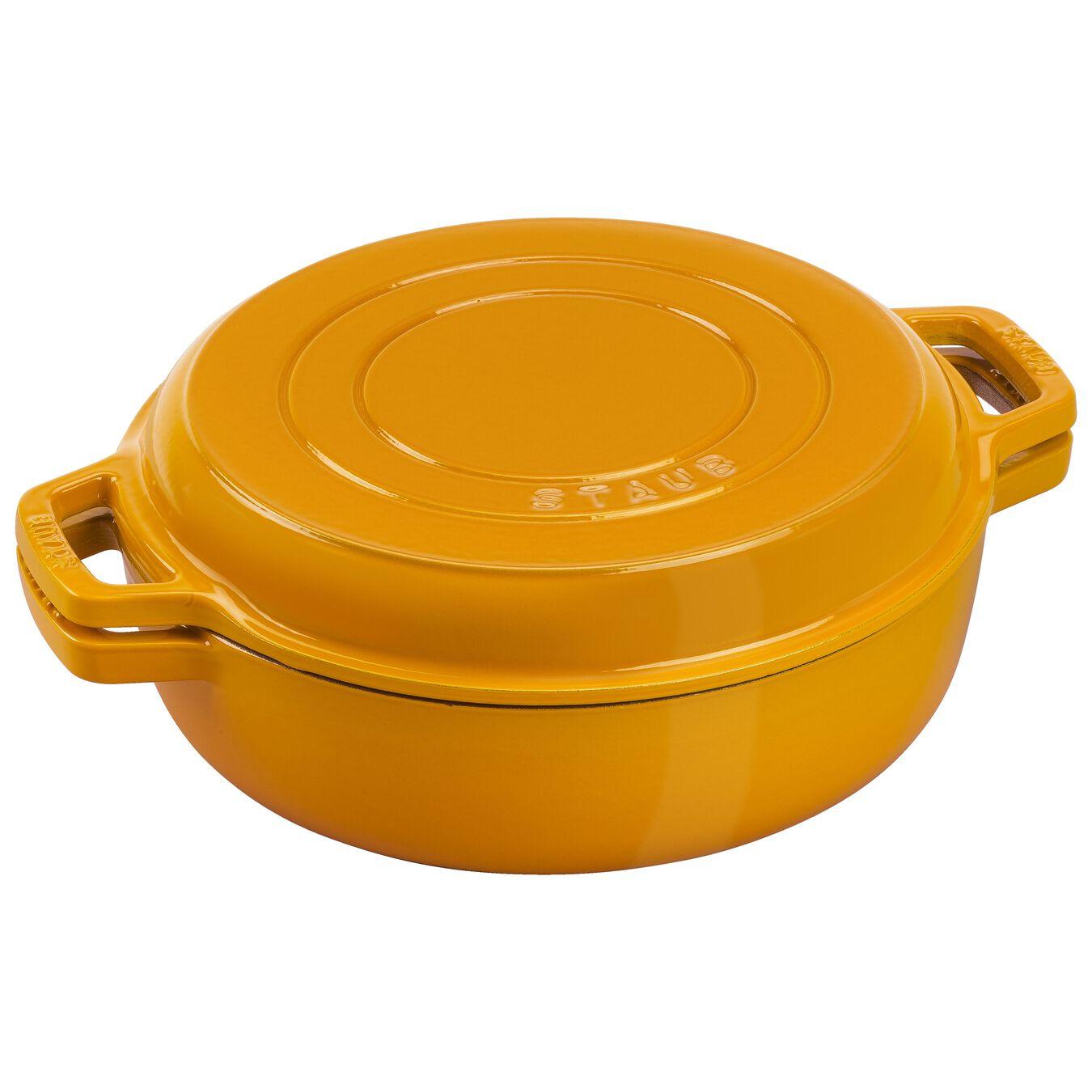 3.5 qt, Braise + Grill, Saffron,,large 1