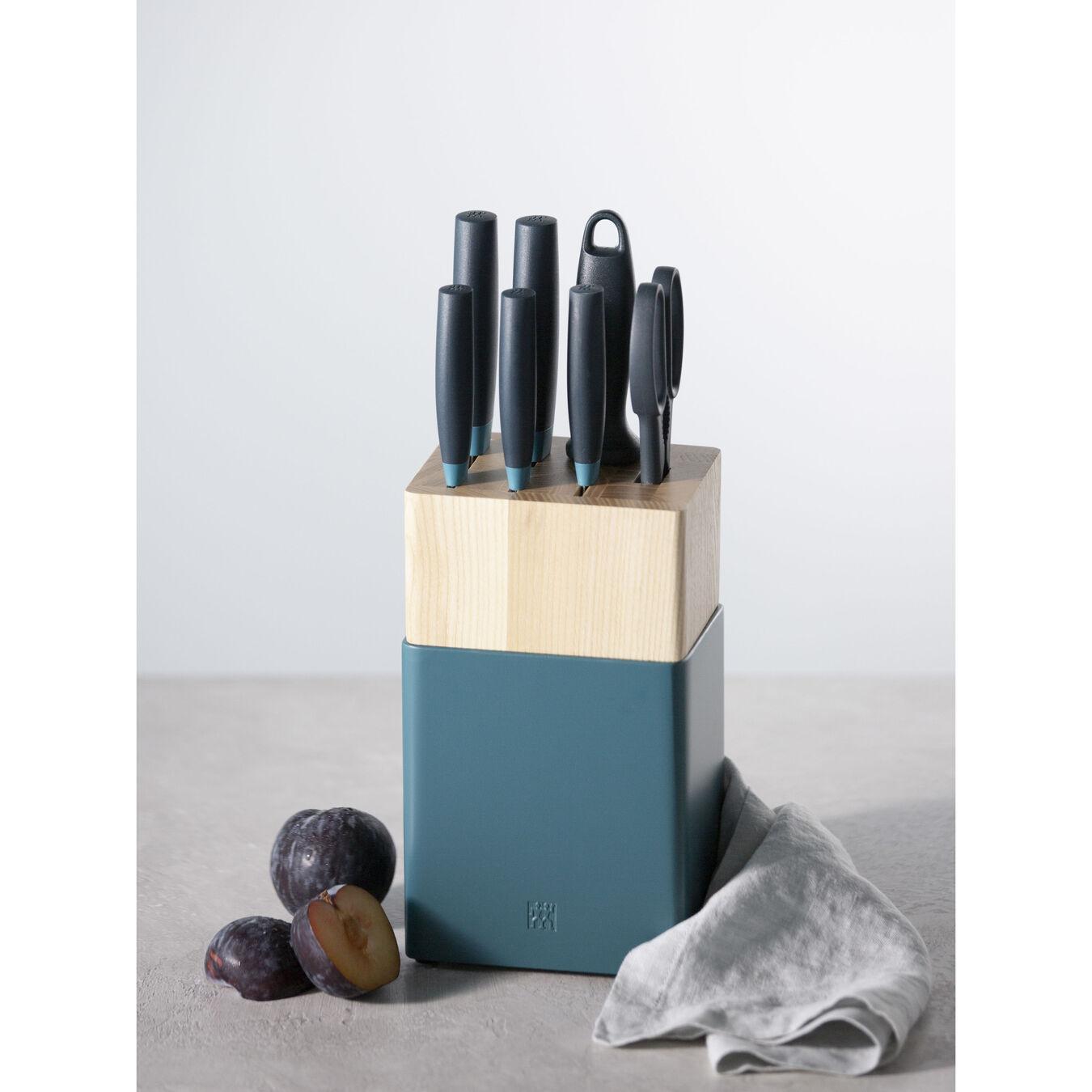 8-pc, Knife block set, blueberry,,large 4