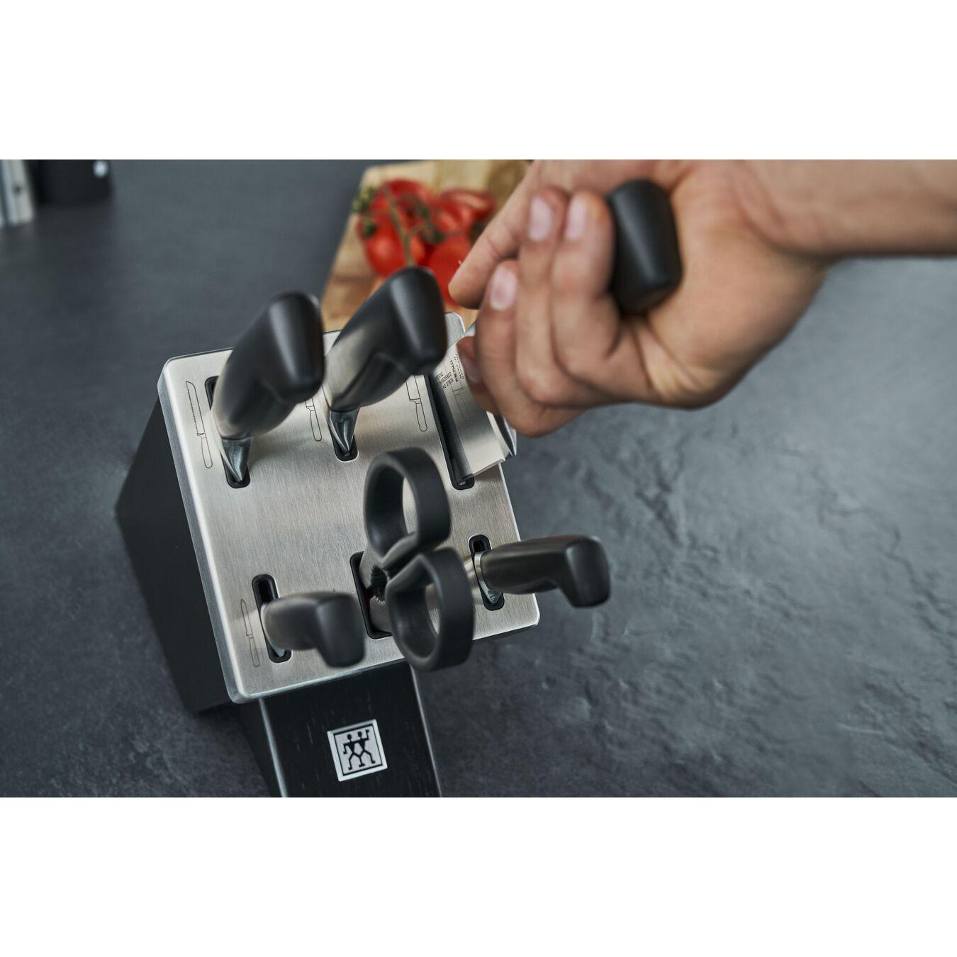 Bloc de couteaux avec technologie KiS 7-pcs, Frêne,,large 4