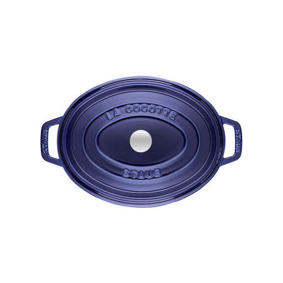 4.5-qt-/-29-cm oval Cocotte, Dark-Blue,,large 2