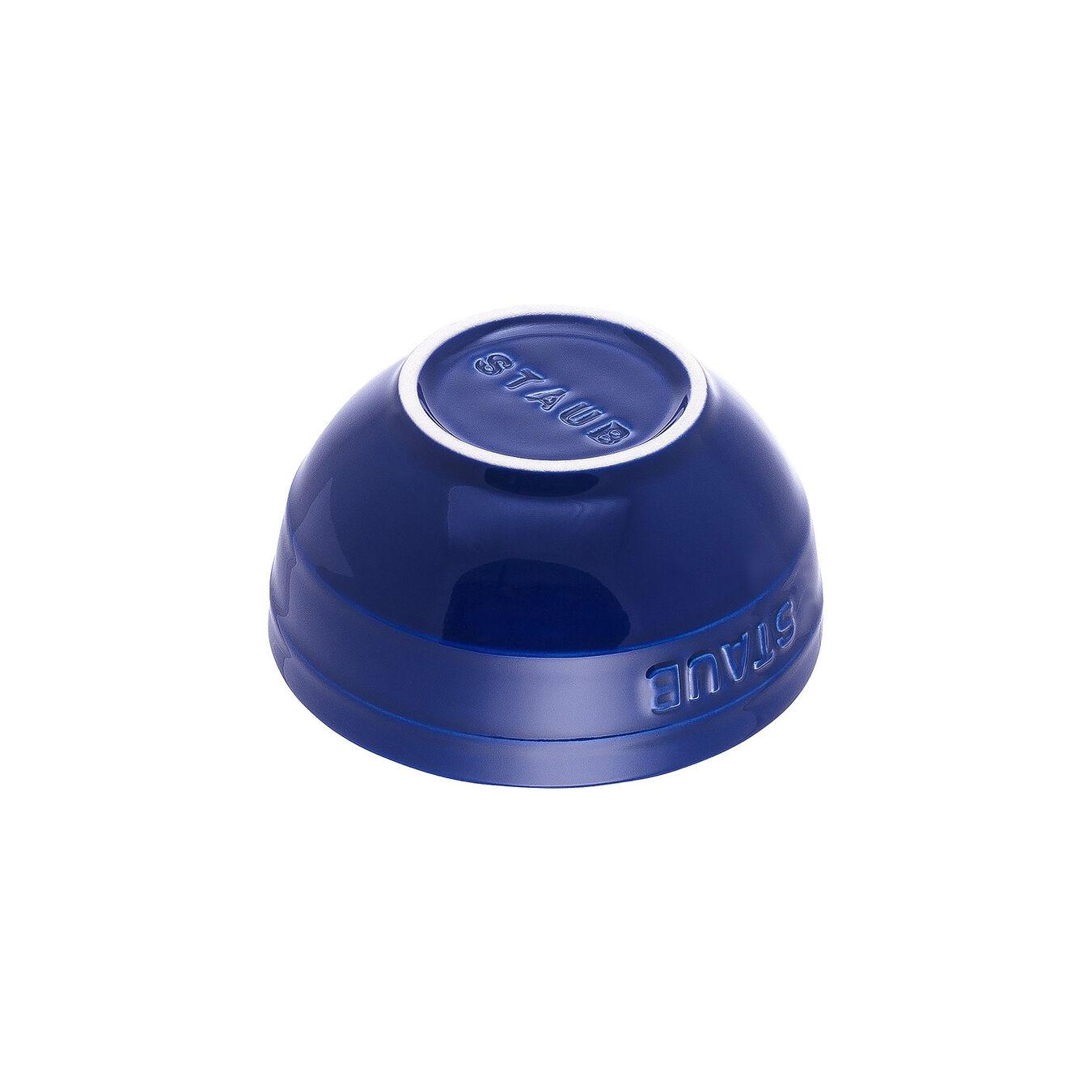 17 cm Ceramic round Bowl, Dark-Blue,,large 2