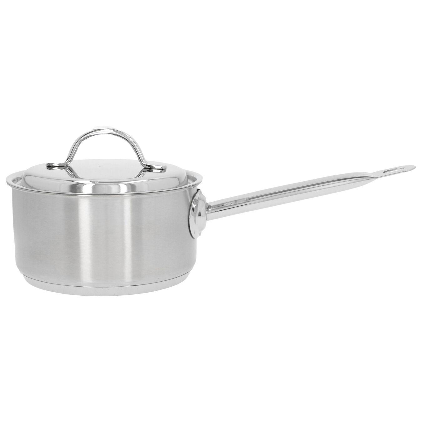 Steelpan met deksel 16 cm / 1,5 l,,large 1