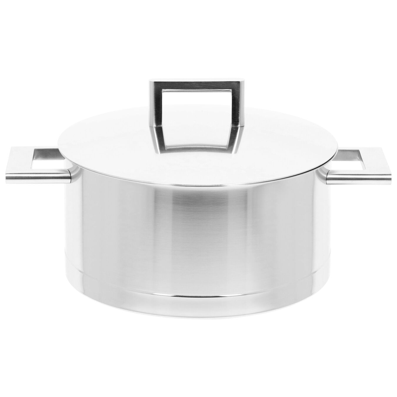 4.25 qt, 18/10 Stainless Steel, Stew pot with double walled lid,,large 1