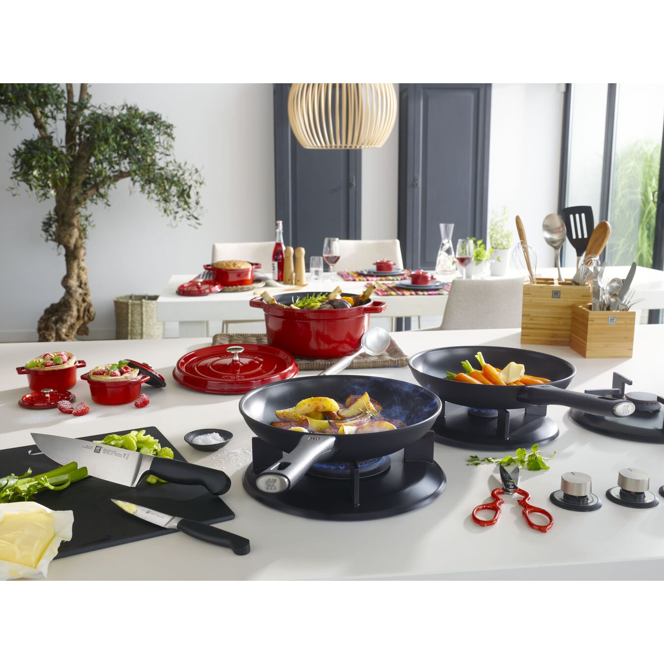 8-inch, Non-stick, Frying pan,,large 2