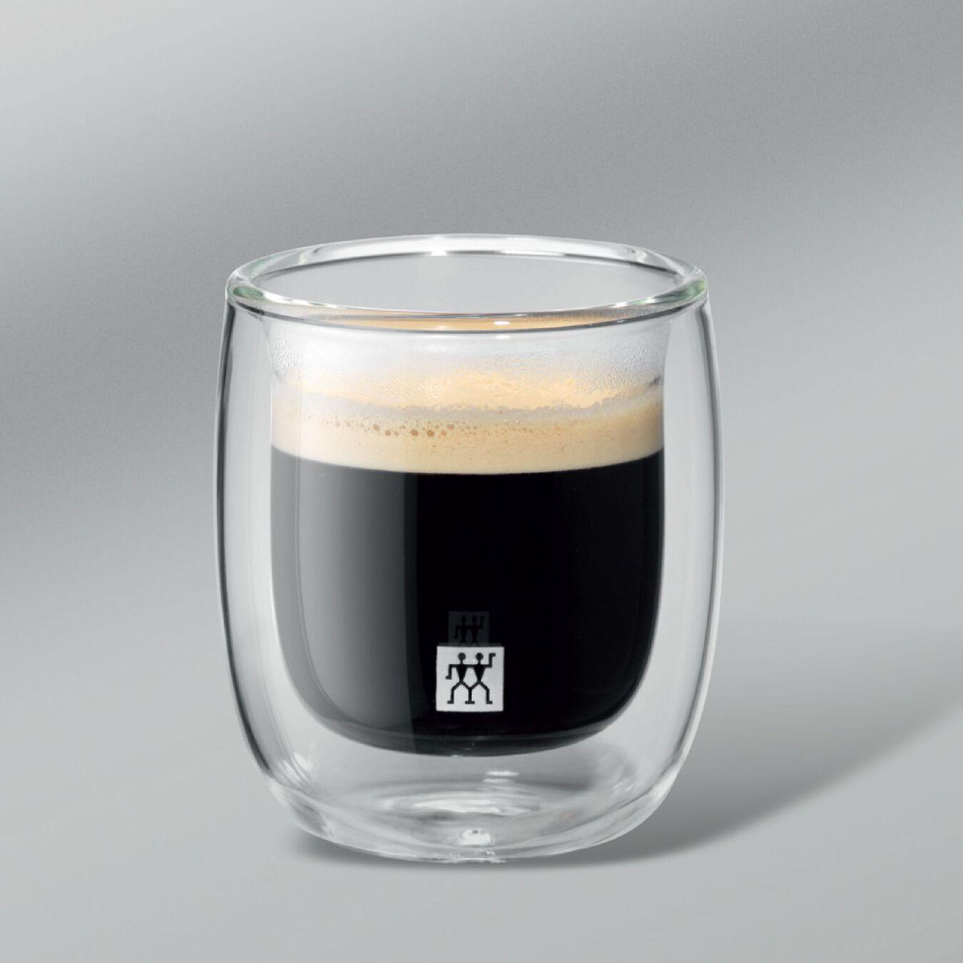 Espresso Bardağı Seti   Borosilikat Cam   2-parça,,large 3