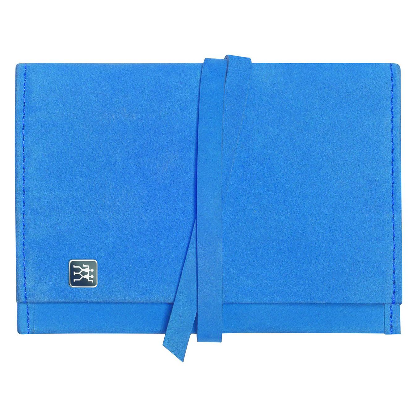 Pocket case, stainless steel   stainless steel   blue,,large 1