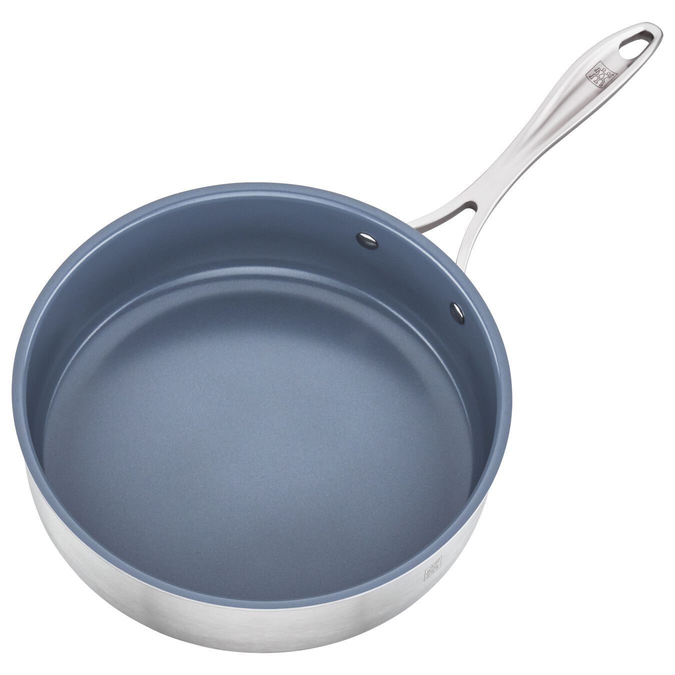 3-ply 3-qt Stainless Steel Ceramic Nonstick Saute Pan,,large 2