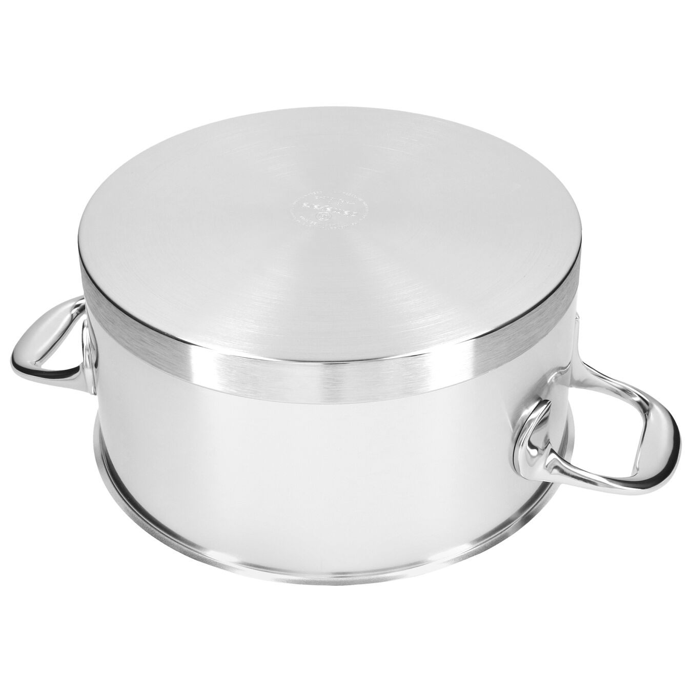 4.25 qt, 18/10 Stainless Steel, Stew pot with lid,,large 6
