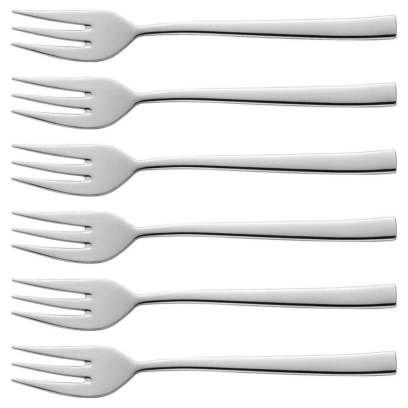 Set di forchette da dolce - 6-pz., 18/10 acciaio inossidabile,,large 1