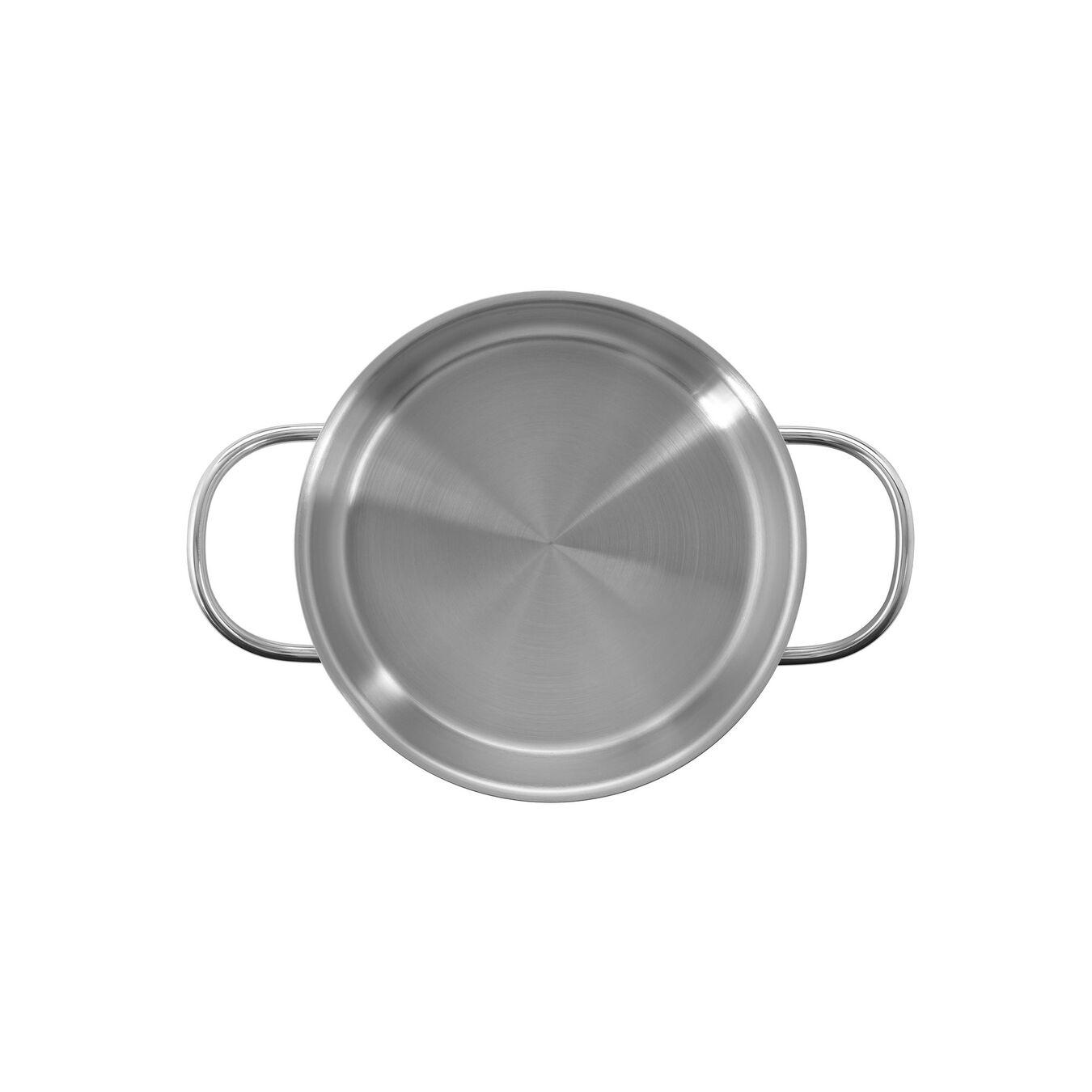Sığ Tencere | 18/10 Paslanmaz Çelik | 1,5 l | Metalik Gri,,large 2