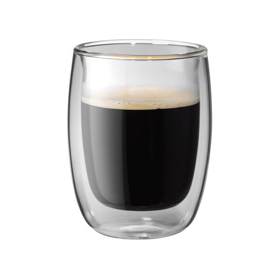 2-pc  Coffee glass set,,large