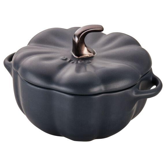 0.5-qt Pumpkin Cocotte, Black,,large 8