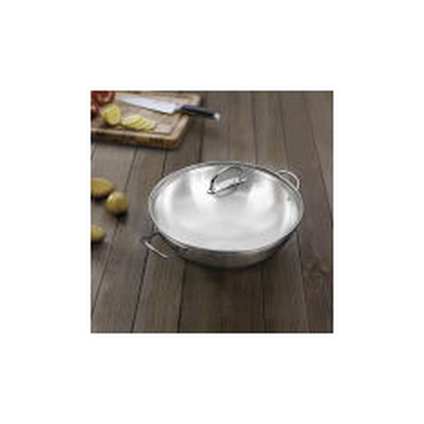 36 cm / 14 inch 18/10 Stainless Steel Wok,,large 4