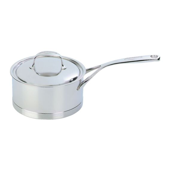 2.5-qt 18/10 Stainless Steel Sauce pan, Silver,,large