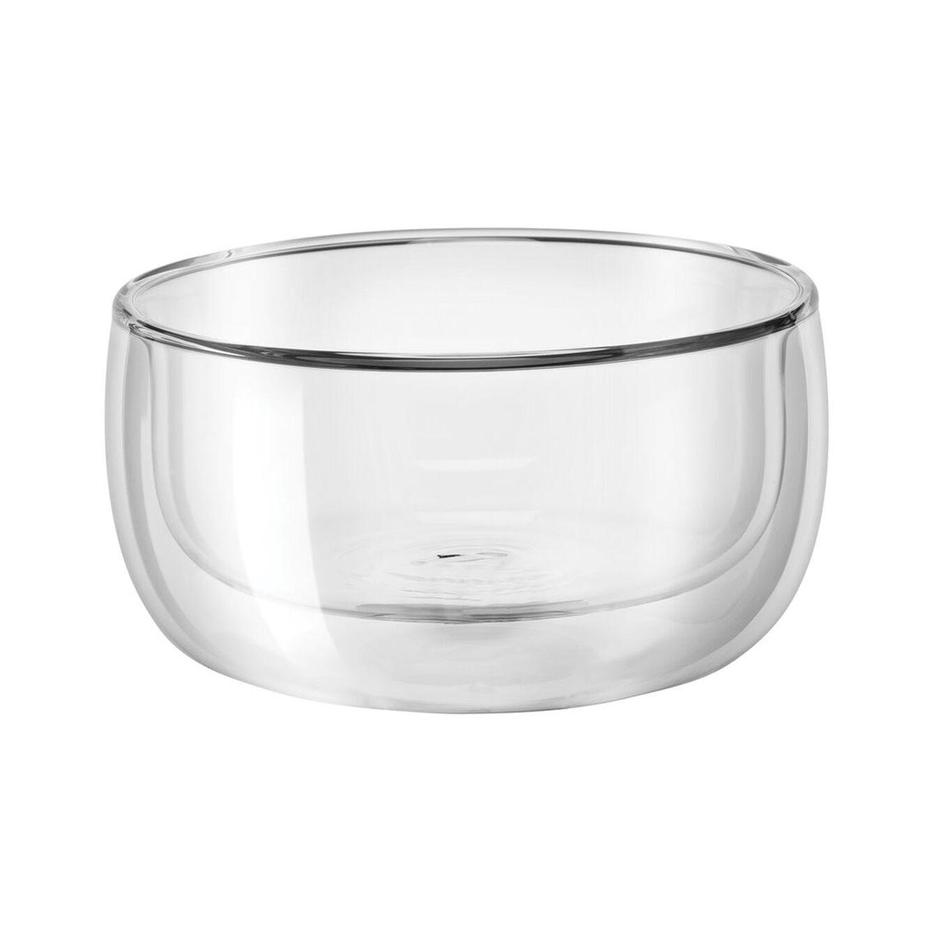 2-pc, Bowl set, transparent,,large 2