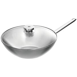 ZWILLING Plus, 30-cm-/-12-inch  Wok, Silver