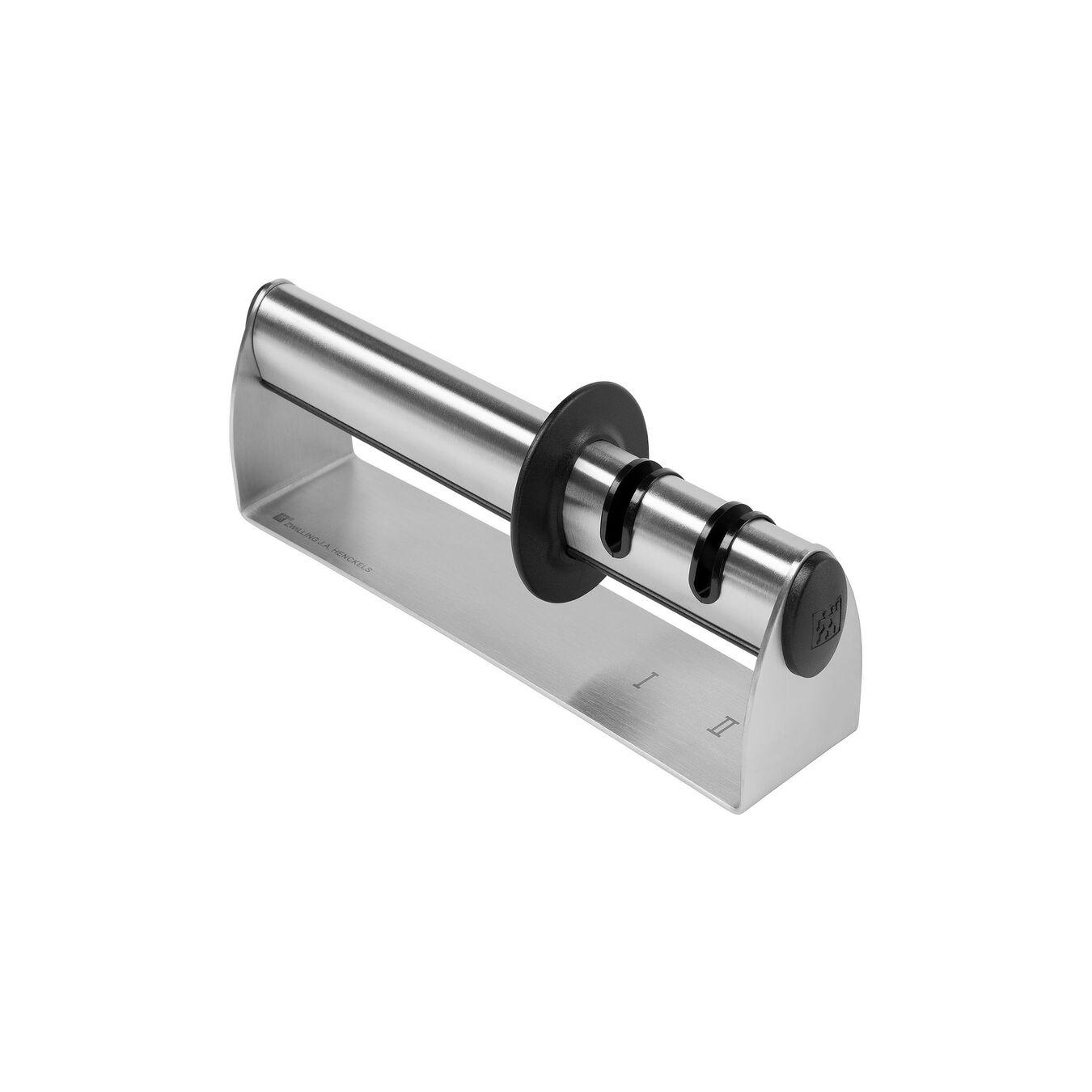 Amolador de facas Prata, Aço inoxidável,,large 4