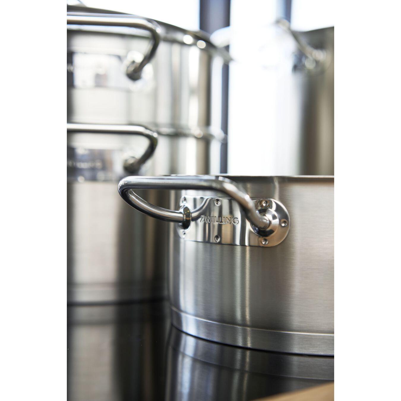 Casseruola - 20 cm, 18/10 acciaio inossidabile,,large 9