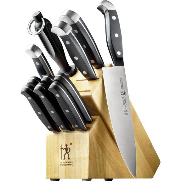 12-pc Knife block set ,,large