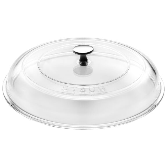 11-inch Domed Glass Lid,,large
