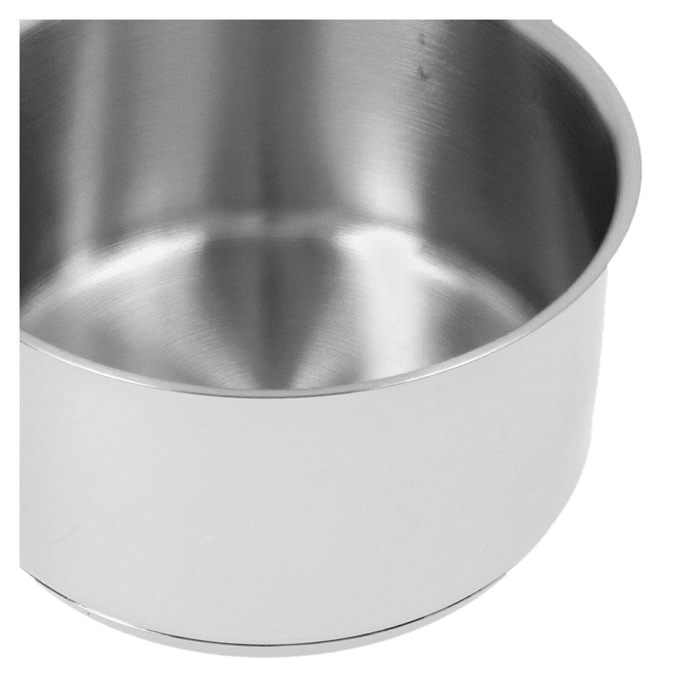 Casseruola con manico senza coperchio - 12 cm, 18/10 Acciaio inossidabile,,large 5