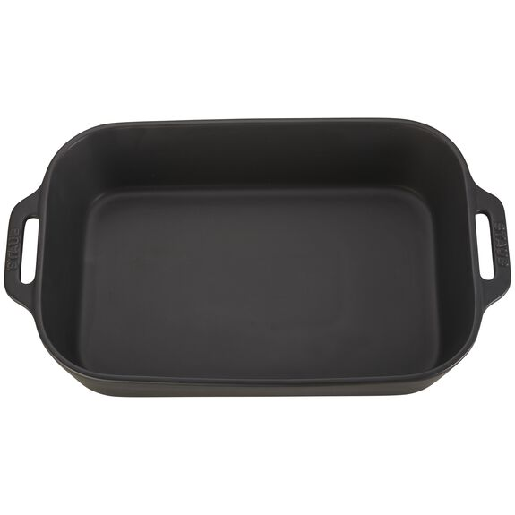 13-inch x 9-inch Rectangular Baking Dish - Matte Black,,large 2