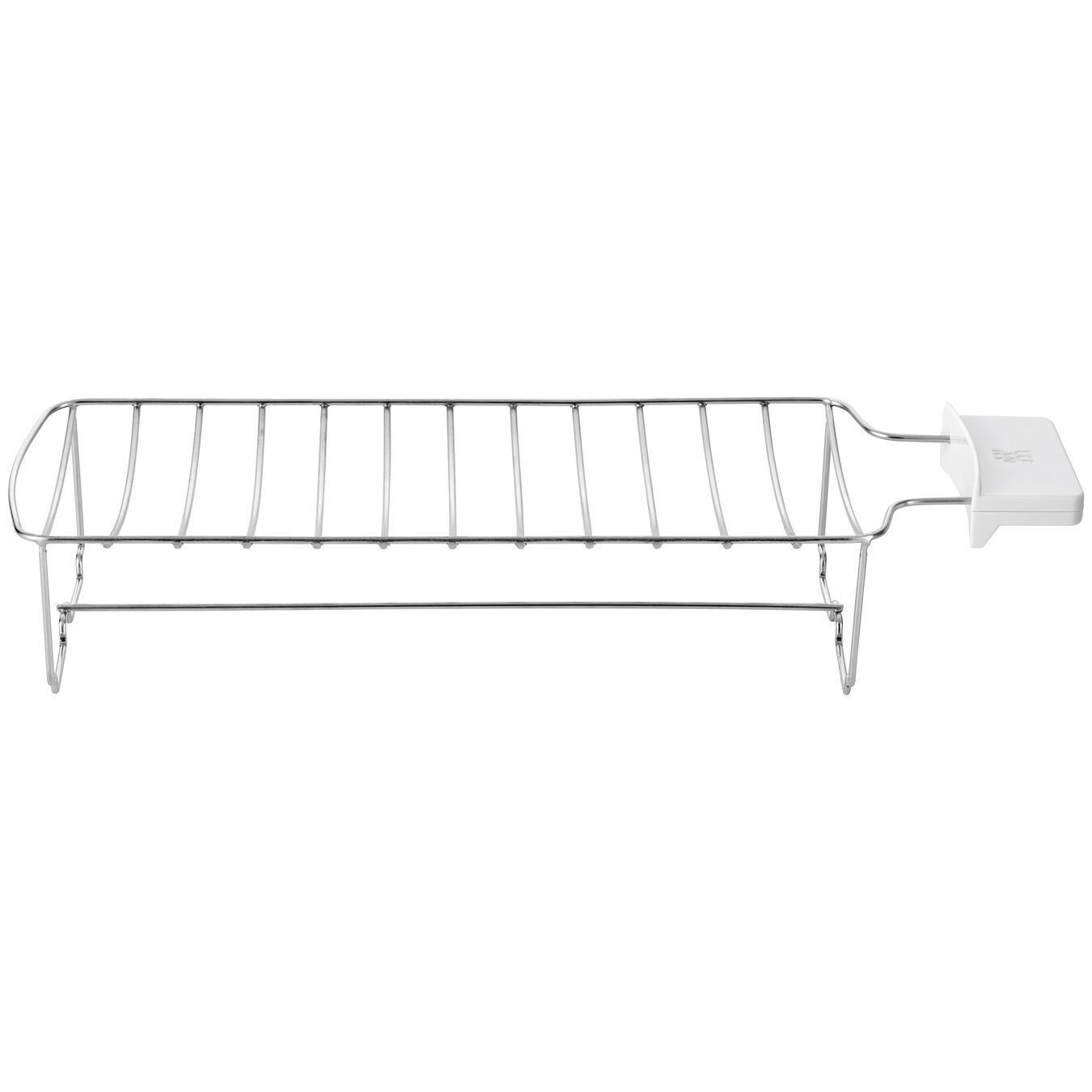 Bun Warmer - Large, 2 long slots | silver,,large 1